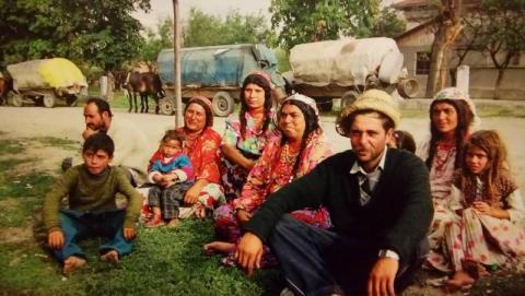 Romowie podczas wędrówki Fot. Monika Szewczyk