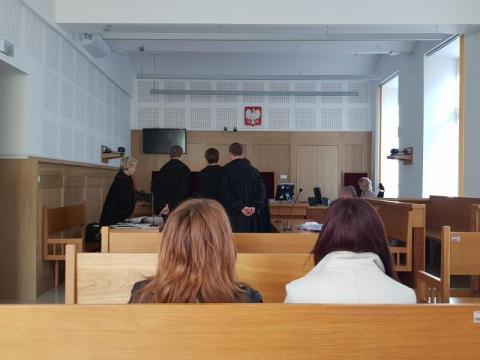 Wzruszenie i łzy podczas rozprawy. Sąd wydał wyrok w sprawie wypadku w Łęce
