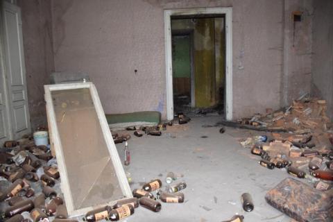 czytaj też: Łuna ognia nad Muszyną. Ktoś podpalił budynek?