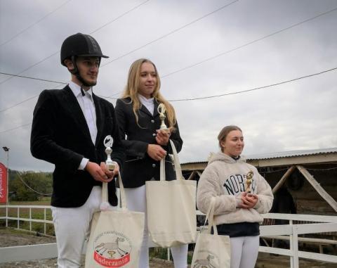 Laureaci Sądeckiego Turnieju Jeżdzieckiego w Kobylance