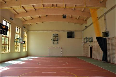 Sala gimnastyczna w Rojówce już otwarta. Można grać!