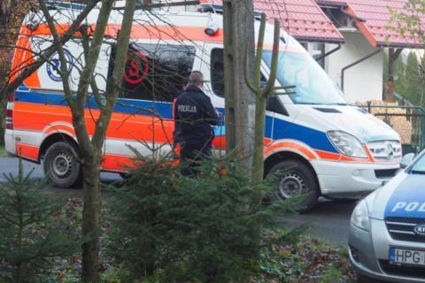 Tragedia w Szyku. 53-latek prawdopodobnie postrzelił się z broni palnej