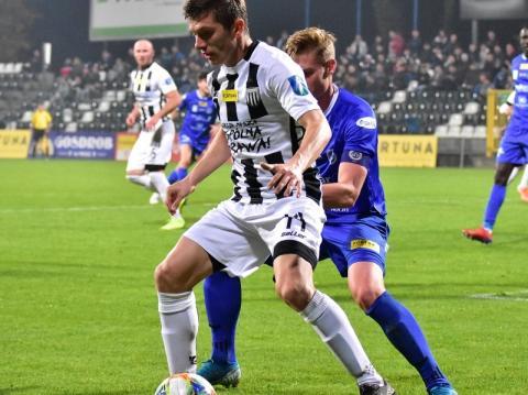 Remis Sandecji w ostatnim meczu sezonu.