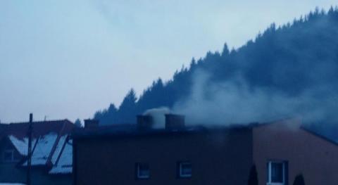 Jak tropiliśmy czarny dym z komina w Sączu na osiedlu Zawada i co z tego wyszło