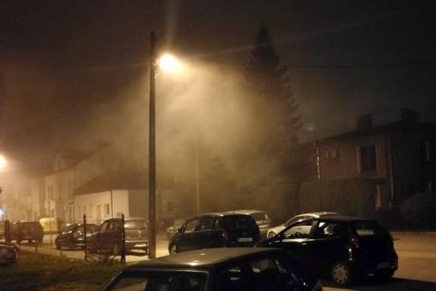 Ludzie, zostańcie w domu! Zabójczy pył wisi nad Nowym Sączem