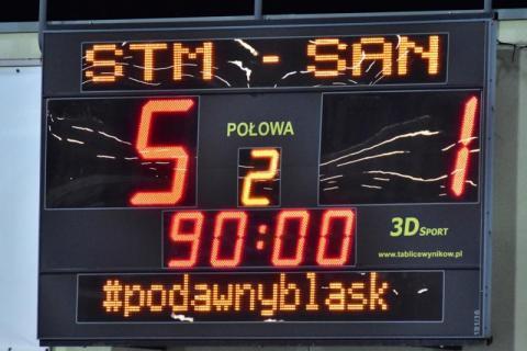 Sandecja przegrała ze Stalą Mielec