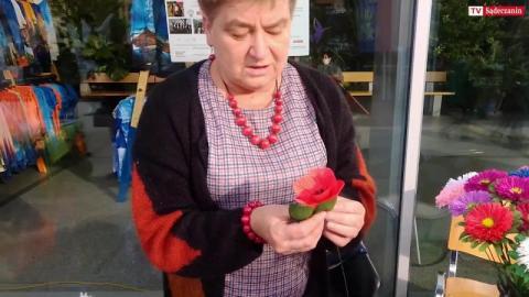 Stanisława Majda wykonuje piękne bukiety z bibuły i krepiny [WIDEO]
