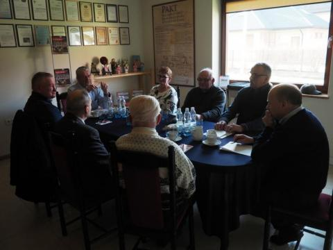 Posiedzenie zarządu Stowarzyszenia Sołtysów Ziemi Sądeckiej