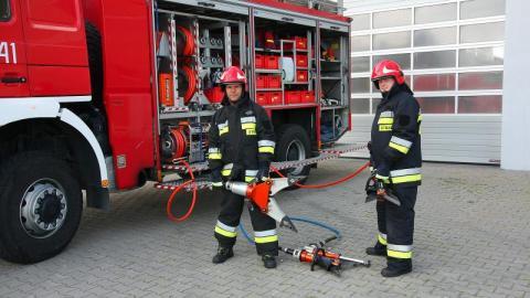 Akcja krwiodawstwa w sądeckiej Straży Pożarnej