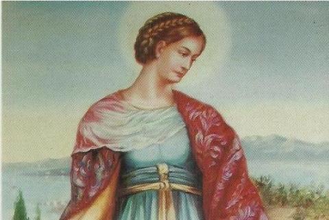 Św. Katarzyna Aleksandryjska w grybowskiej bazylice mniejszej