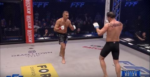 Piotr Świerczewski zadebiutował w MMA