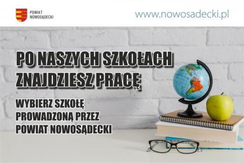 Powiat Nowosądecki: mamy dla Ciebie szkołę!