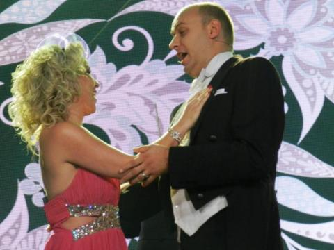 Katarzyna Laskowska (sopran) i Adam Sobierajski (tenor)