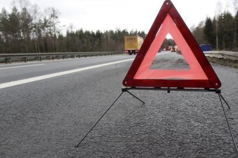 Wysokie: ciężarówka i dwie osobówki zderzyły się na drodze krajowej nr 28