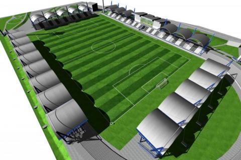 Tak stadion Sandecji wyglądać nie będzie!