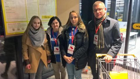 Burmistrz Jacek Lelek dzieli się swoim sercem z potrzebującymi