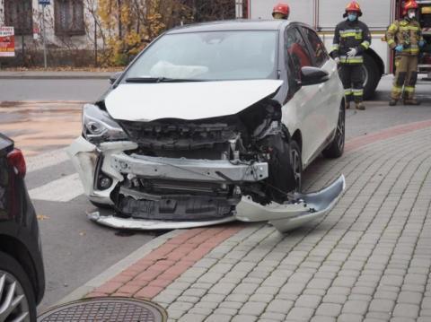 To jakaś straszna seria nieszczęść. Kolejny kierowca zasłabł za kierownicą