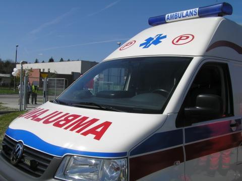 Nowy Sącz: Na Tarnowskiej zderzyły się dwa auta. Jedna osoba w szpitalu