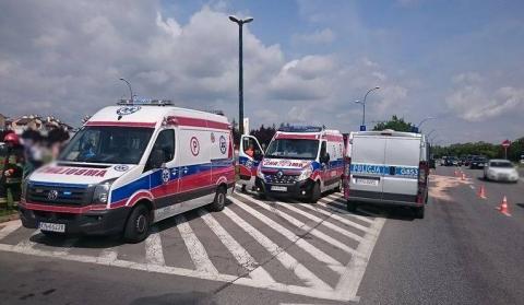 Mega karambol i wypadkowe domino na drogach