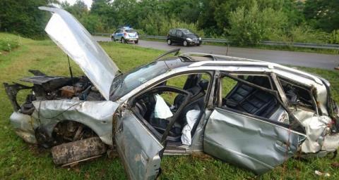 Dwa lata od wypadku w Krużlowej. Wciąż nie wiadomo, który bliźniak kierował