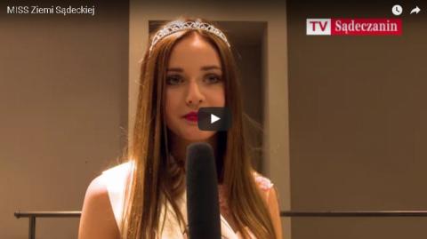 Miss Ziemi Sądeckiej, Ewelina Filipek: - Nie ćwiczę, nie stosuję diety… [WIDEO] Pierwszy wywiad najpiękniejszej!