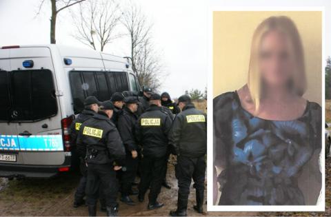 Policjanci odnaleźli zaginioną 39-latkę. Leżała nieprzytomna w zaroślach
