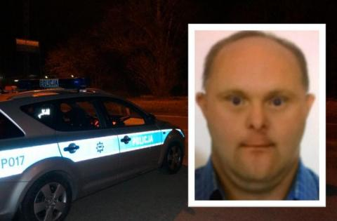 Zaginął 44-letni Adam Kantor. Jest niepełnosprawny, jego życie jest zagrożone