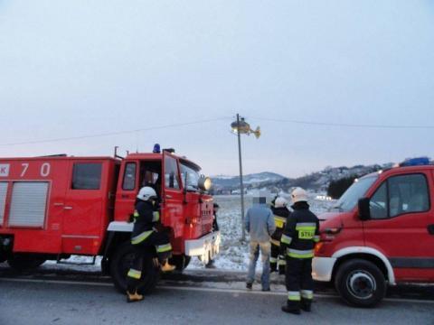 Gorlice: pracownik przygnieciony przez przęsło mostu