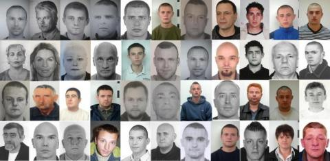 Groźni przestępcy poszukiwani listami gończymi. Przypatrz im się dobrze