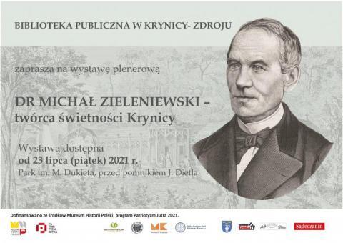 Poznajcie dr Zieleniewskiego, balneologa. W tym roku świętuje dwusetne urodziny