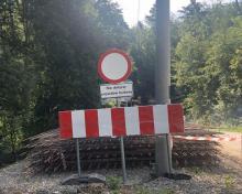 Chełmiec: kolejna droga zamknięta i kolejne objazdy