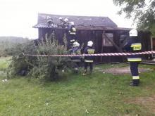 Uszkodzone dachy, powalone drzewa. Przez Męcinę przeszła trąba powietrzna?