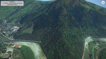 Zobacz jak krajówka może przebić górę Kicarz w Piwnicznej