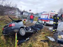 Jak doszło do wypadku w Łososinie Dolnej? Stan 20-latka wciąż jest bardzo ciężki