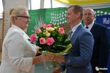 Halina Węgrzyn dyrektor SP nr 21 w Nowym Sączu