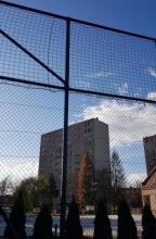Piłkochwyty, osiedle Westerplatte, fot. czytelnik