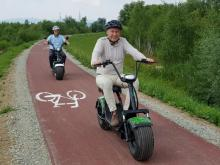 ścieżka rowerowa w Świarsku, fot. Iga Michalec