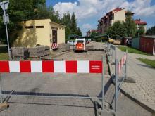 Nowy Sącz: remontują ulicę Reguły. Wjazd od Gorzkowskiej zablokowany