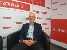 Tomasz Baliczek, dyrektor Wydziału Sportu i Turystyki UM w Nowym Sączu, fot. Iga Michalec