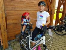 Stary Sącz: Szymuś ma zaledwie 14 miesięcy a już startuje w zawodach rowerowych!