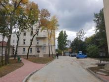 Remont dróg wewnętrznych w sądeckim szpitalu, fot. Iga Michalec