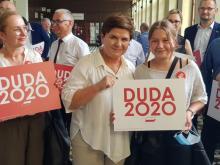 Premier Beata Szydło przyjechała do Nowego Sącza. Skąd ta nagła wizyta?