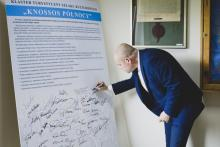 Tomasz Michałowski, szef gabinetu politycznego Ministra Edukacji i Szkolnictwa Wyższego też wspiera klaster