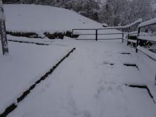 Zapomnieli o Kocich Plantach? Przejście z Wólek całkowicie zasypane śniegiem
