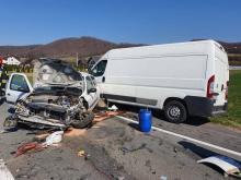 Dramatyczny wypadek w Łososinie. Droga krajowa 75 była zablokowana [ZDJĘCIA]
