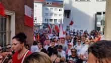 Polski marsz w Reutlingen