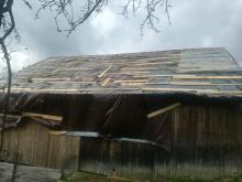 Jak koniec świata. Przez wieś koło Laskowej przeszła trąba powietrzna?