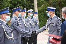Limanowscy policjanci obchodzili święto. Aż 47 funkcjonariuszy awansowało