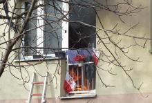 Z ostatniej chwili: pożar w bloku przy ul. Broniewskiego. Trwa akcja ratunkowa