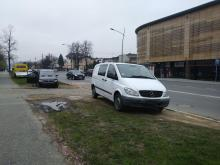 Efekt domina na ul. Lwowskiej. Zderzyły się trzy samochody